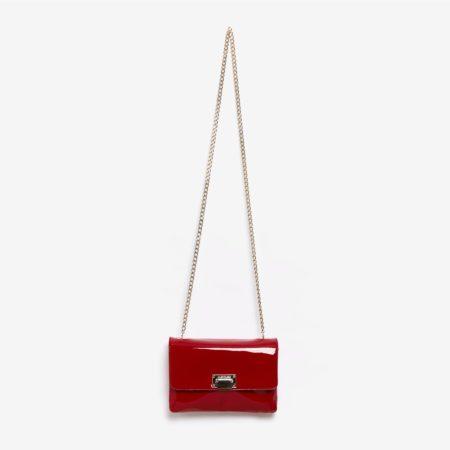 Red Handbag Julien Fournie Haute Couture Red kiss Face