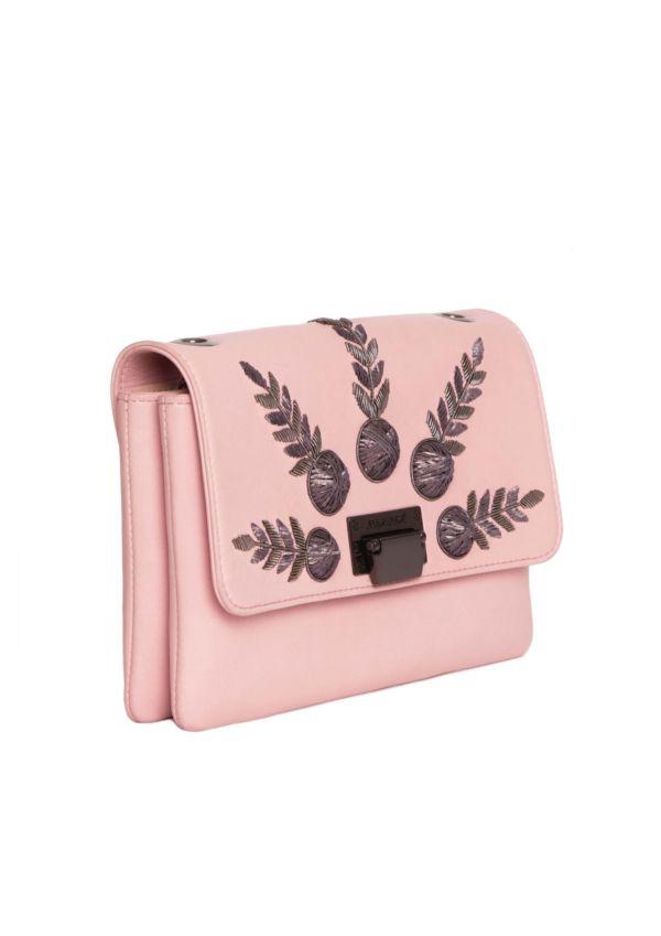 Pink handbag Haute Couture Handbags Julien Fournie Haute Couture Academician 2 3:4