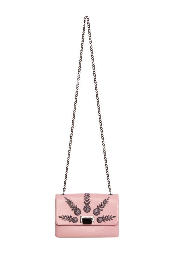 Pink handbag Academician Julien Fournié Haute Couture