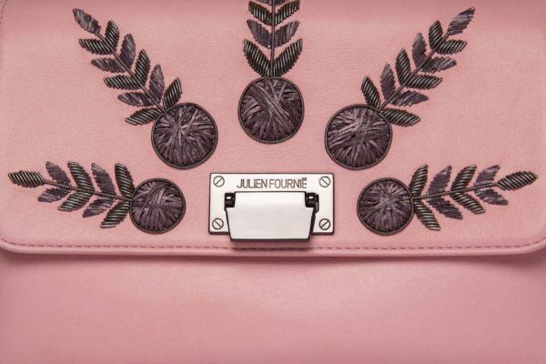 Pink handbag Julien Fournié haute Couture Zoom