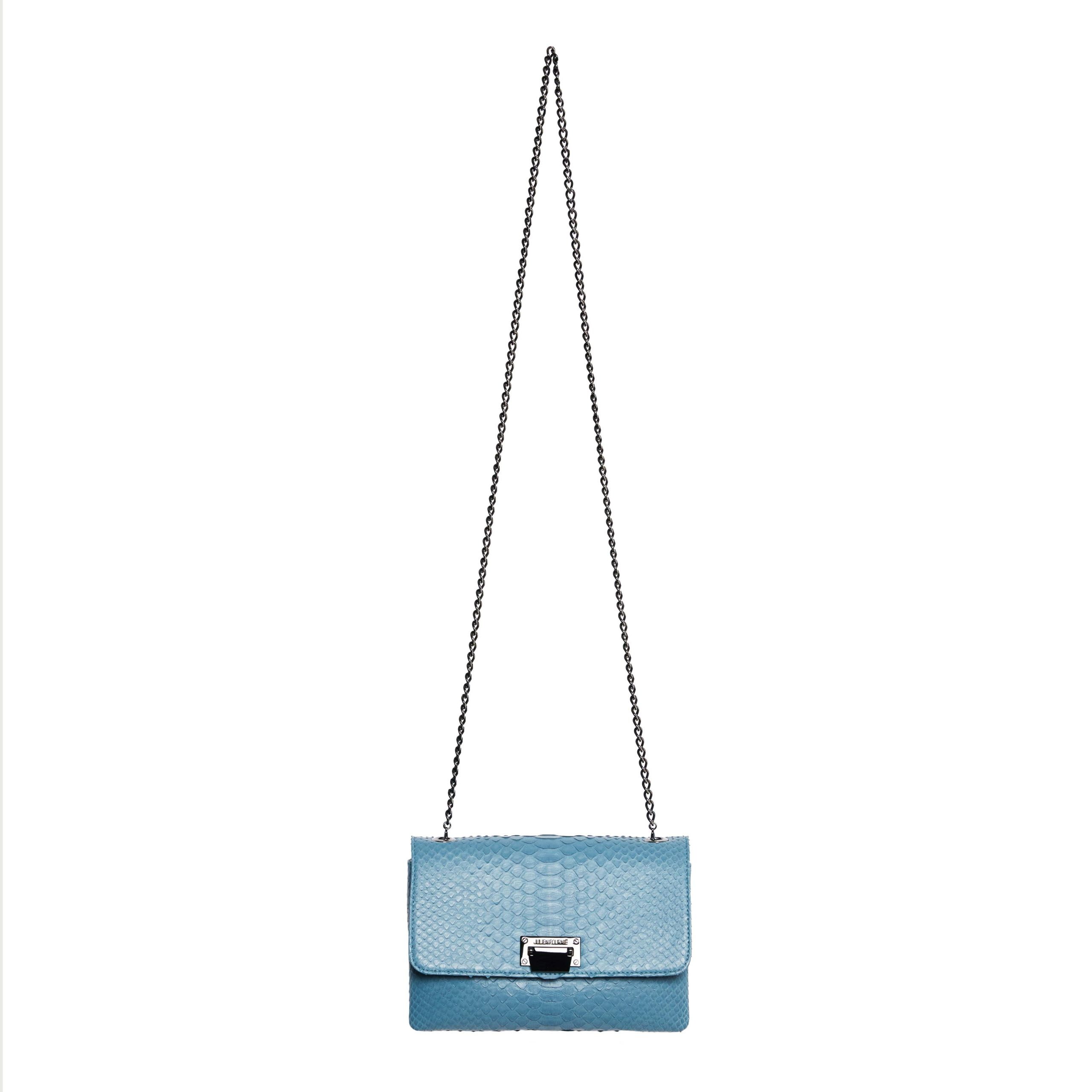 Blue handbag Julien Fournié Haute Couture Handbag
