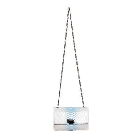 Sky Blue Handbag Julien Fournié Haute Couture face
