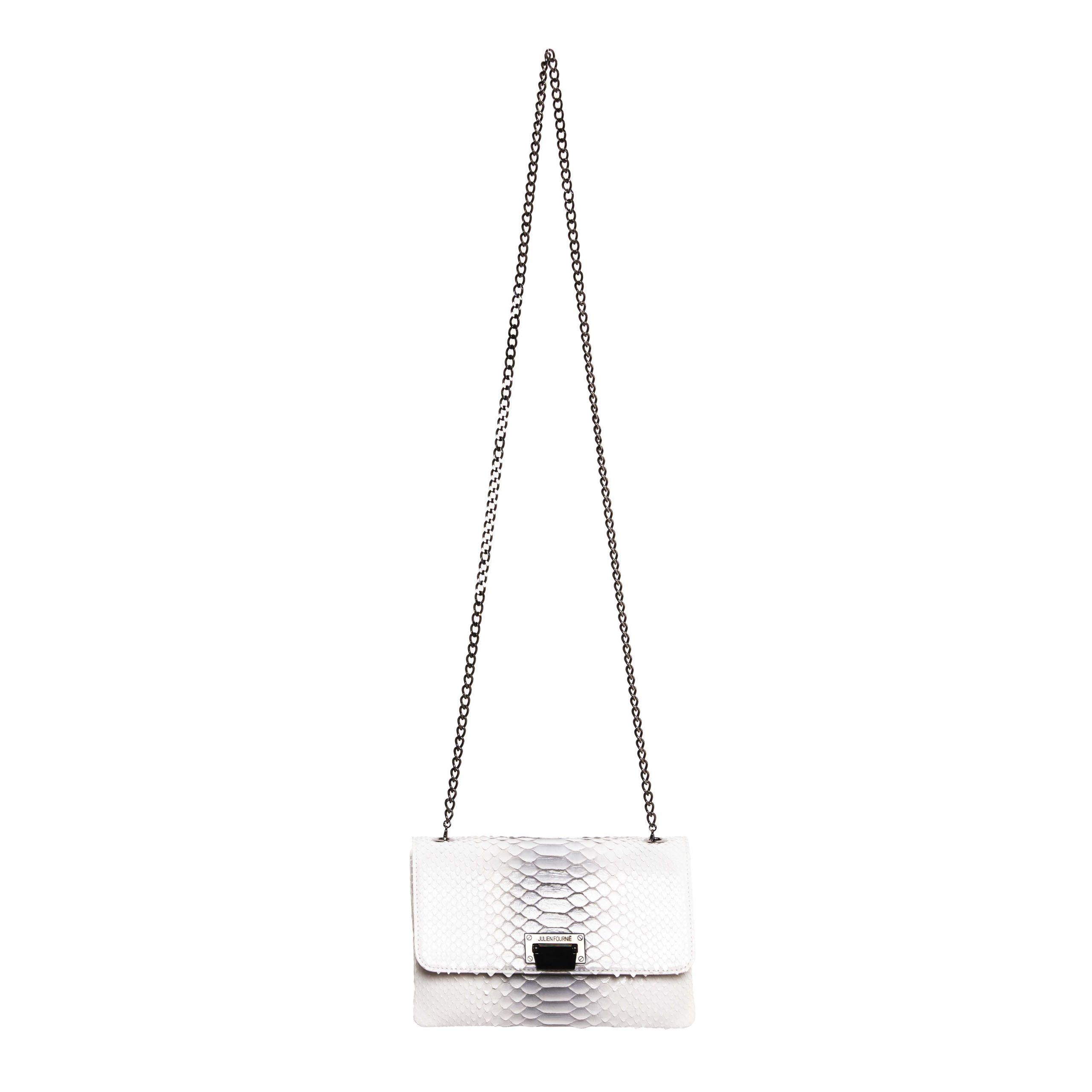 grey handbag Julien Fournié Haute Couture