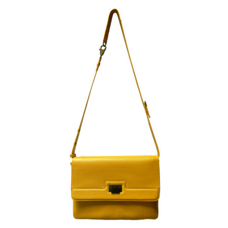 sac a main jaune curry