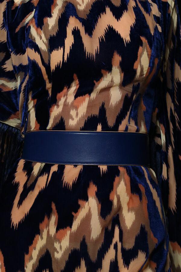 Ceinture de luxe Lazulli Bleu