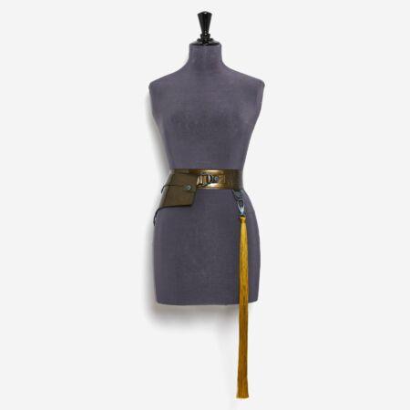 Ceinture de luxe bronze Julien Fournié Haute Couture