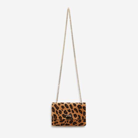 Sac à main léopard Julien Fournié Haute Couture
