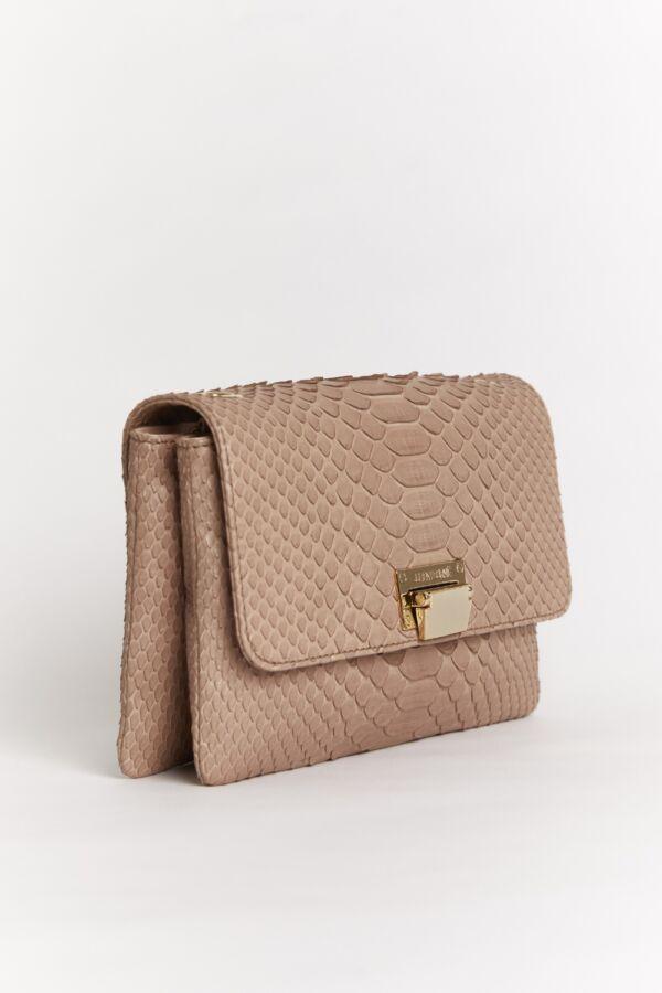 sac rose en python Julien Fournié Haute Couture