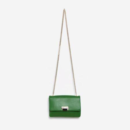 sac à main vert Julien Fournié Haute Couture
