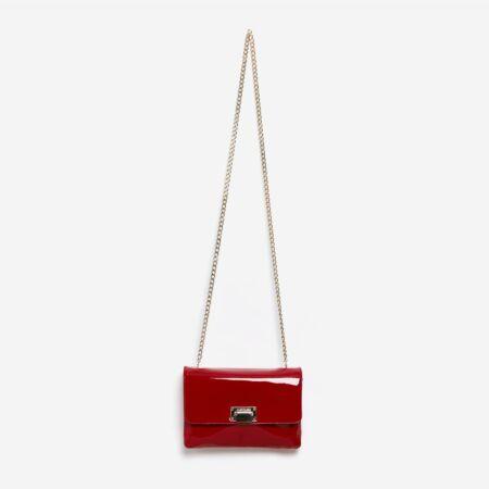 Sac à main rouge Julien Fournié Haute Couture