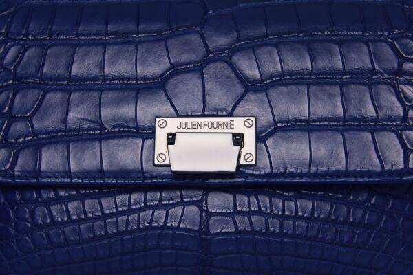 sac bleu alligator Julien Fournié