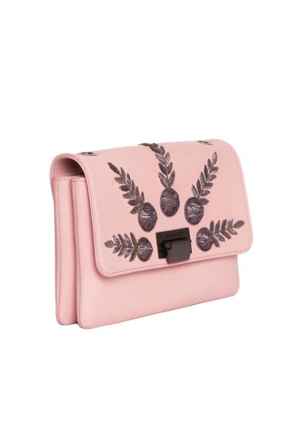 Sac à main rose Julien Fournié Haute Couture