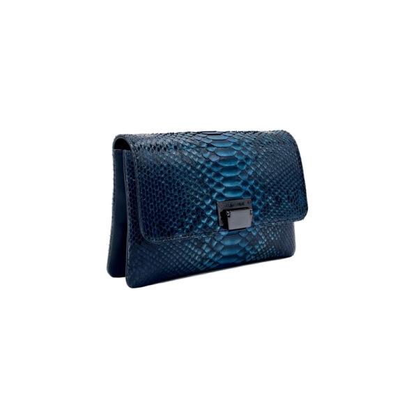 Sac à main haute Couture en Python Empress Julien Fournié Haute Couture trois quart