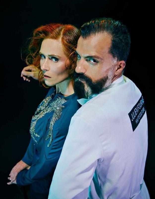 Audrey Fleurot et Julien Fournié