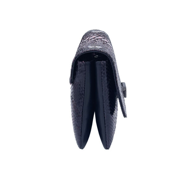 Sac à main en Python Witch Julien Fournié Haute Couture profil